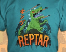 King of the Dinosaurs - Rugrats/Reptar T-Shirt - Men's / Unisex & Women's Fit