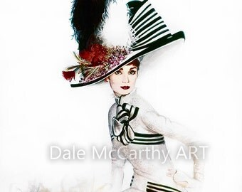 Audrey Hepburn - My Fair Lady PRINT
