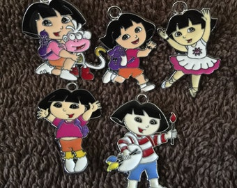 Dora the Explorer Charms