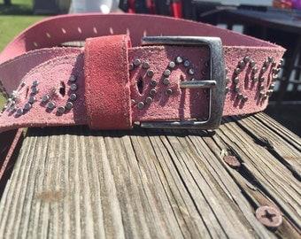 Pink Jewel Belt