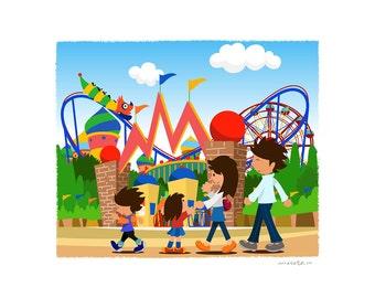 JAPAN-Family Amusement park