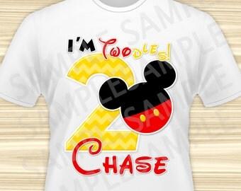 Mickey Iron On Transfer. Mickey Mouse Iron On Transfer. Mickey Mouse Birthday Shirt. Mickey Mouse Party. DIGITAL FILE.