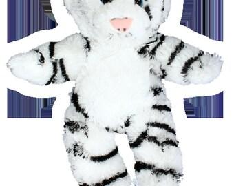 Snowflake the White Tiger Singing Stuffed Animal