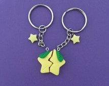 Kingdom Hearts Paopu Fruit - Keychain, Pendant, or Bracelet charm, Friendship Charm