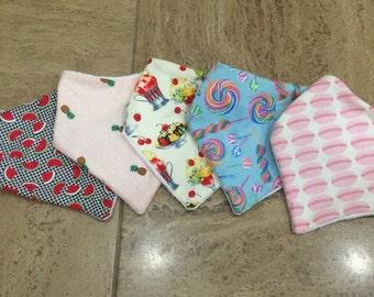 Pick one         Food Handkerchief bib