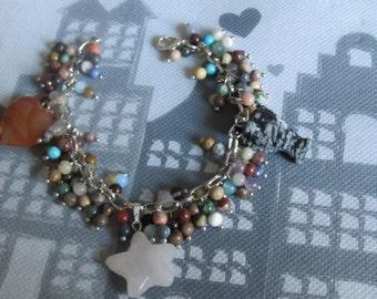 Bracelet gemstone Fiesta
