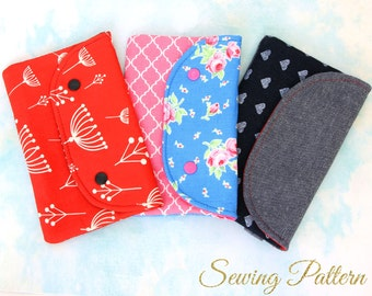 Clutch Pattern, Purse Pattern, Clutch Purse Pattern, Envelope Clutch Pattern, Wristlet Clutch Pattern, Sewing Pattern PDF HANDY CLUTCH (B906