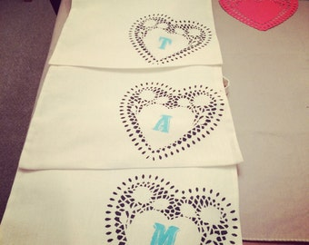 Bridesmaid/bachelorette party bags Set of 6