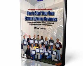 How to start Your own Picture Framing Business DVD Set