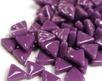 10mm Micro Mosaic Purple Triangles - 50g