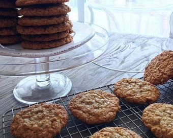 Oatmeal sugarfree healthy and low callorie cookies