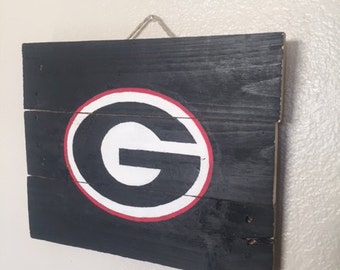 Georgia Bulldogs Pallet Flag