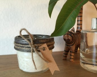 Handmade Soy Candle in Jelly Jar (4 OZ)