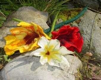 Personalised Felt flower