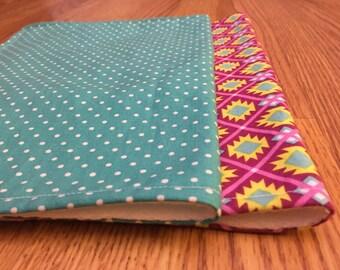 Aqua and Violet - Burp cloths - set of 2