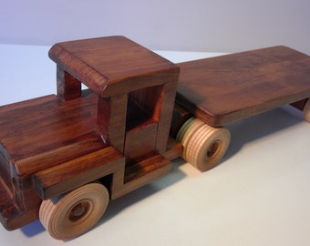 Wooden Army Truck