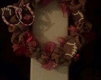 OSU Boomer Sooners wreath