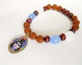 Lebe dein Potential | Shiva | Yoga | Transformation | Rudraksha | Armband | in die eigene Kraft kommen| Heilsamer indischer Schmuck
