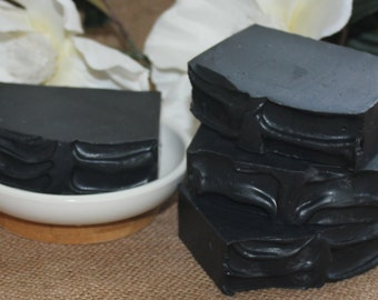 Activated Charcoal Soap .