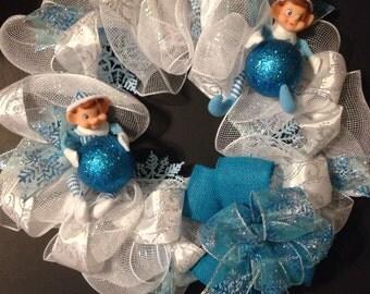 Christmas Elf wreath - Handmade