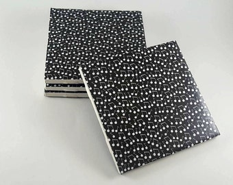 Musical Notes Coasters – Drink Coasters – Ceramic Tile Coasters – Coaster Set – Musician Home Decor – Ceramic Coasters – Hostess Gift