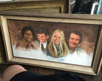 Rare Mod Squad Painting