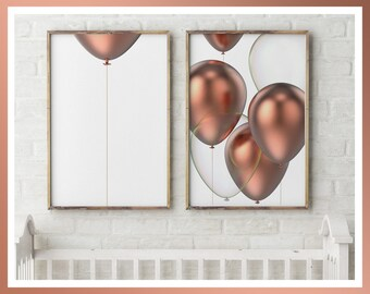 Copper Large & Small Wall Art Prints, Modern Design, Limited Edition, Signed, Copper, Relaxing, Minimalist Art