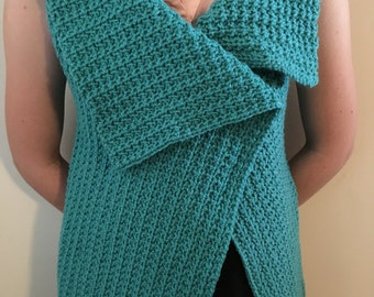 Now ON SALE! Crochet Vest