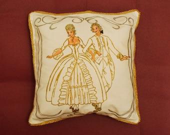 interior pillow-baroque dance motive 2