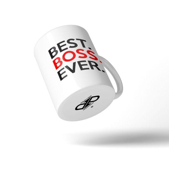 Best Boss Ever Mug - Great Gift Idea Stocking Filler