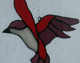 Tiffany SunCatcher bird. (Glass)