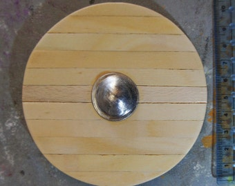 1/6 scale Viking/Anglo-Saxon shield for 12 inch action figure