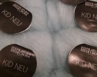 Kid Mohair Knitting Yarn, by Filatura Di Crosa. Finest knitting yarn from Italy.