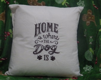 Throw Pillows With Dog Sayings : Dog sayings pillow Etsy