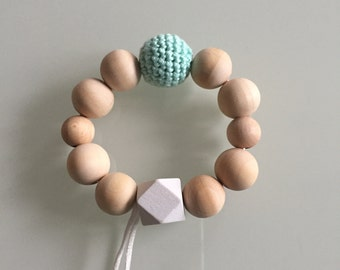 Teething toys + pacifier chain