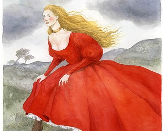 So Olwen Came - Limited Edition Giclee Print