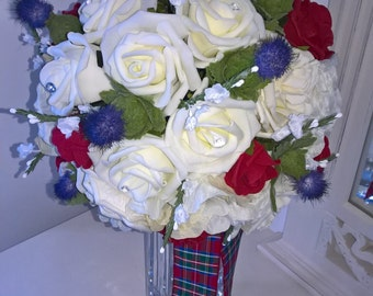 Scottish Wedding Bouquet