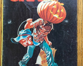 """Crazy Magazine Trick or Treat January 1976 No. 15 Issue """"Jaws"""""""