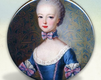 Marie Antoinette Princess Pocket Mirror