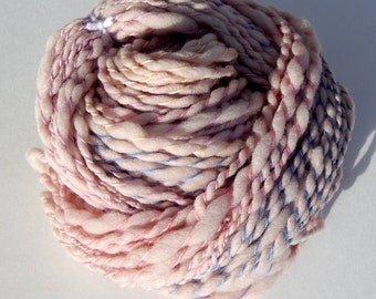 Candyfloss-Plant Dyed Handspun Yarn