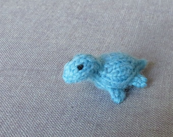 Magnet - Nessie the Plesiosaur - Knitted and Crocheted