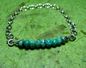 Spirit - Turquoise and Sterling Silver Bracelet