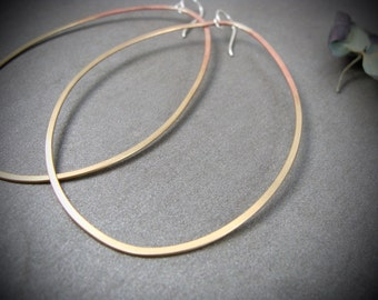 brassy hoops