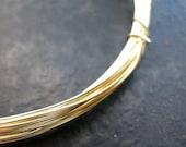 24 gauge Bright Brass Wire - 10 feet