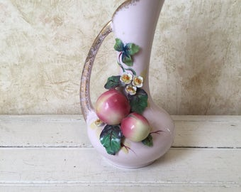 Vintage 1950 Hand Painted Lefton Vase/Pitcher