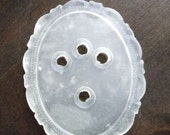 50% OFF 40mm Plastic Victorian Setting Matte Crystal (g - 315)