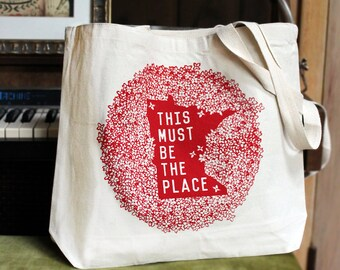 Minnesota Must be the Place Tote