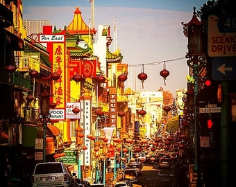 Summer Sale - Chinatown - San Francisco Photography - Bay Area Photos, California, Travel, Vacation, Buildings, Lanterns