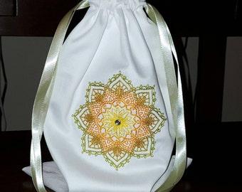 Mazel Tov Groom's Glass Smash Bag Mehndi Star