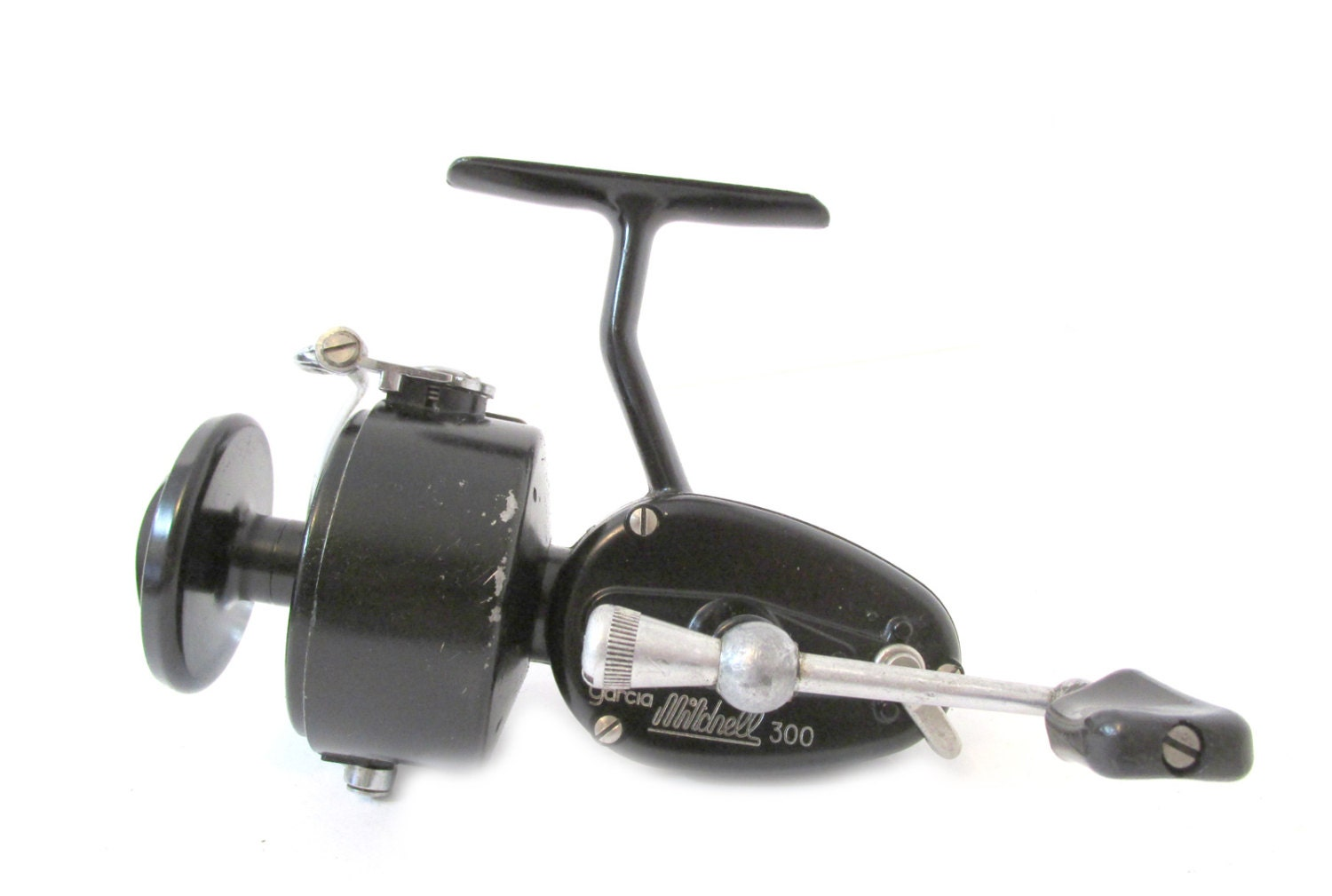 Garcia mitchell 300 spinning reel vintage old fishing reel for Vintage fishing reels
